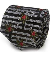 cufflinks inc music holly note men's tie