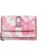 marc jacobs pink tie dye mini wallet