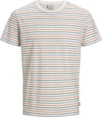 t-shirt jack & jones plus size ronde hals wit