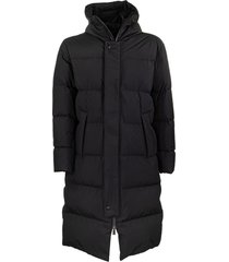 herno long down jacket with hood