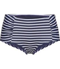 brief sandra classic midi bikinitrosa blå lindex