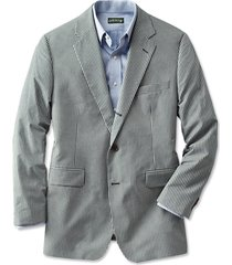 wrinkle-free gingham sport coat / regular, 42