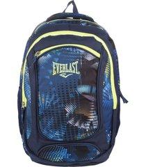 mochila azul everlast 8534
