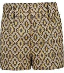 prada patterned shorts