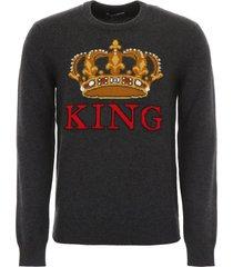 dolce & gabbana crown pullover