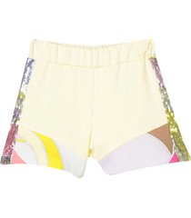 emilio pucci colored shorts