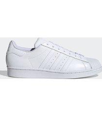 tenis lifestyle blanco adidas originals superstar