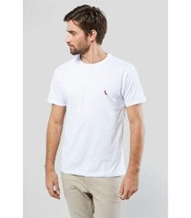camiseta brasa pica-pau bordado reserva masculina - masculino