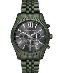 reloj michael kors para hombre - lexington  mk8604