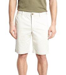 men's big & tall tommy bahama boracay shorts, size 44 - white
