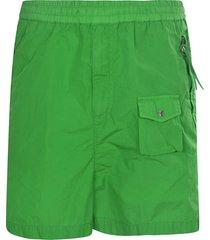 moncler genius multi-pocket detailed shorts