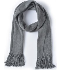 bufanda básica gris ferouch