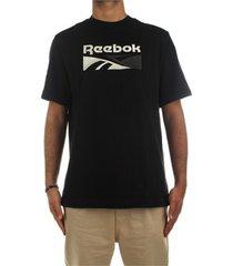 overhemd korte mouw reebok sport ft7841