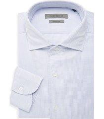 regular-fit check-print dress shirt