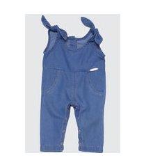 1817 - macacáo jeans amiguinha