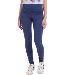 calça gestante legging jeans com cotton luna cuore