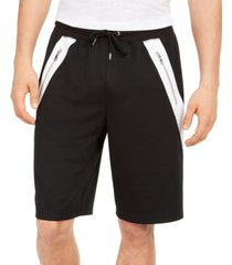 inc men's regular-fit colorblocked drawstring shorts, created for macy's