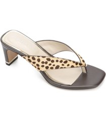 kenneth cole new york women's macen toe-thong sandals women's shoes