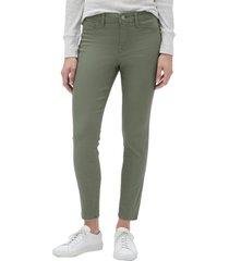 jeans legging vintage verde gap