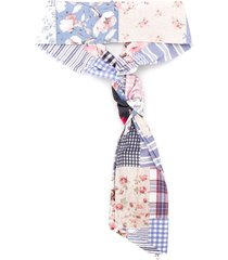lapin house patchwork knot detail headband - e0108