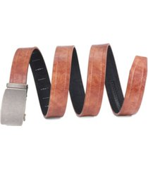 mio marino men's casual wrinkled leather ratchet belt