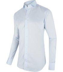 cavallaro overhemd hemelsblauw twill ml7 widespread