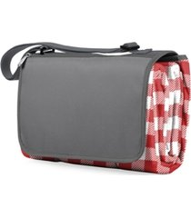 oniva by picnic time blanket tote red outdoor picnic blanket