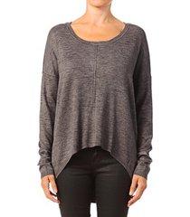 blouse vero moda glory aura ls zipper blouse 10115665 gris