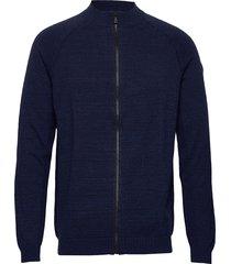 race stretchknit jacket sweat-shirt trui blauw sail racing