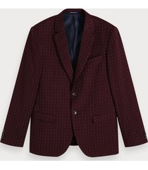 scotch & soda patterned blazer