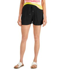 style & co petite pull-on shorts, created for macy's