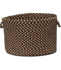 colonial mills brook farm braided storage basket