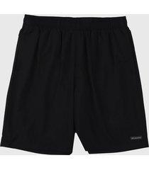 pantaloneta negro columbia