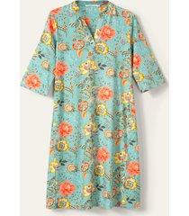 oilily dyenna jurk- turquoise