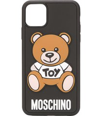 moschino teddy bear iphone 11 pro max case - black