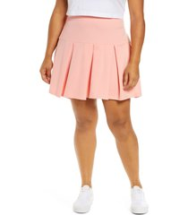 bp. bp knit tennis skirt, size 2x in pink pudding at nordstrom