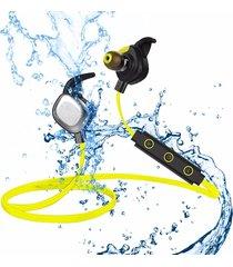 audífonos bluetooth manos libres inalámbricos, u5 plus ipx7 sport magnetic stereo auriculares inalámbricos auriculares audifonos bluetooth manos libres  (amarillo)