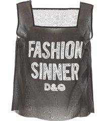dolce & gabbana fashion sinner top