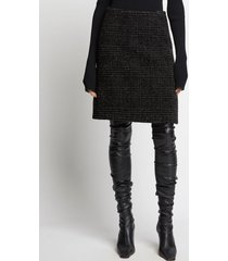 proenza schouler plaid wool skirt /black 10