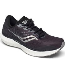 triumph 18 wide shoes sport shoes running shoes svart saucony