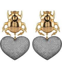 beetle my love earrings