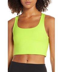 women's girlfriend collective paloma sports bra, size x-small - green