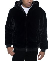 sean john men's faux fur jacket