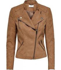 blazer only chaqueta mujer efecto cuero 15102997