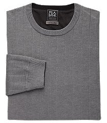 travel tech collection cotton blend men's sweater - big & tall clearance
