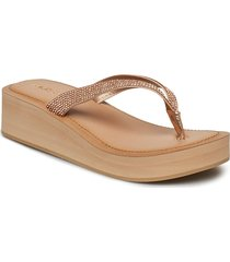 yberani shoes summer shoes flat sandals beige aldo