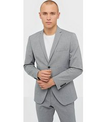 selected homme slhslim-mylologan light grey blz b kavajer & kostymer ljus grå