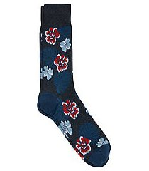 jos. a. bank comfort luxe floral socks, 1-pair