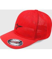 gorra rojo alpinestars