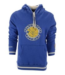 mitchell & ness men's golden state warriors home stretch hoodie sweatshirt